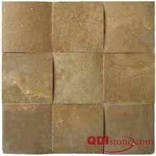 QDI NOCE Travertine Tile QDIsurfaces - Noce travertine tile backsplash
