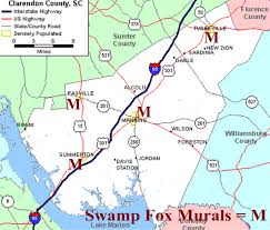 I 35 Map Where Is Clarendon County Sc Maps To Locate Us