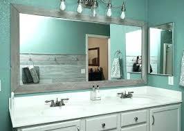 Frame Bathroom Mirror Kit Check This Bathroom Mirror Frame Kit Datavitablog