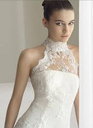 high wedding dresses 2011 2011 high collar lace tulle chapel aire barselona bridal gown