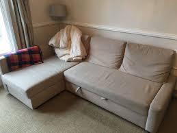 ikea friheten corner sofa bed l shaped with storage left or right