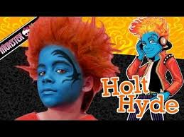holt hyde monster high doll costume makeup tutorial for you