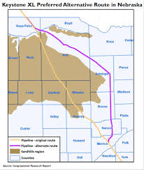 Keystone Xl Pipeline Map The Keystone Xl Pipeline Project Opportunity And Challenges