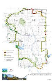 Calgary Map Rotary Mattamy Greenway U2014 Parks Foundation Calgary