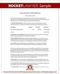 sales contract template 15 sales contract templates free sample