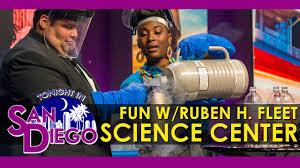 tonight in san diego liquid nitrogen fun with the fleet science