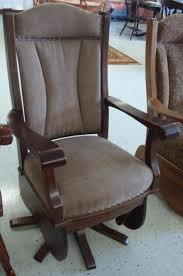 amish heritage swivel glider rocking chair