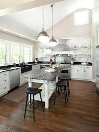 Dining Room With Kitchen Designs Open Kitchen Design Exle Of A Transitional U Shaped Kitchen