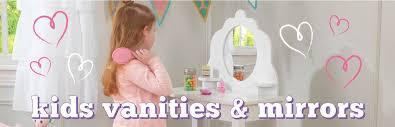 Childrens Play Vanity Kids Bedroom Vanities Kidkraft