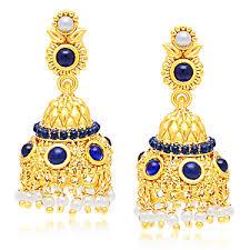 ear ring images earrings online shopping fashion polki danglers pearl