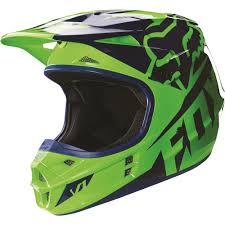 motocross closeout gear fox racing 2016 v1 race helmet flo green available at motocross giant