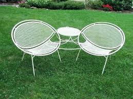 Antique Metal Patio Chairs Metal Porch Chair Vintage Retro Metal Patio Chairs A Wrought Iron