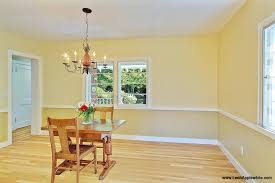 Two Tone Dining Room Paint 1000 Ideas About Two Tone Walls On Pinterest Interesting Dining