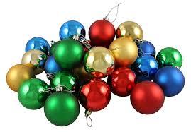 amazon com 24ct matte shiny primary color shatterproof christmas