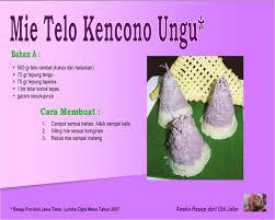 membuat mie warna ungu mie telo kencono ungu uptd pengembangan pertanian dan perikanan