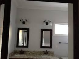 Above Mirror Vanity Lighting Bathroom Vanity Light Height Above Mirror Bathroom Design Ideas 2017