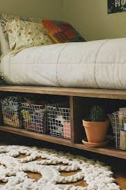 Build Platform Bed Frame With Storage by Best 25 Platform Bed Storage Ideas On Pinterest Bed Frame
