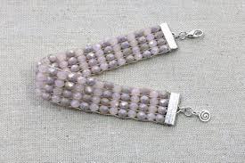beading bracelet crystal images Weave a crystal bracelet on a loom jpg