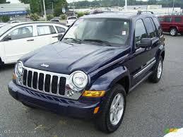 silver jeep liberty 2007 2007 midnight blue pearl jeep liberty limited 4x4 17548132