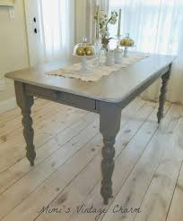 chalk paint farmhouse table mimi s vintage charm farmhouse table chalk paint furniture