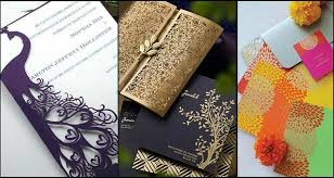 unique indian wedding cards unique and creative wedding card designs of every style