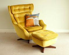 Retro Swivel Armchair John Stuart Mid Century Modern Danish Chrome Swivel Lounge Chair