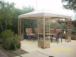 Patio Gazebo Replacement Covers by Decorating Canopy Replacement Tops Garden Winds Gazebo 12x10