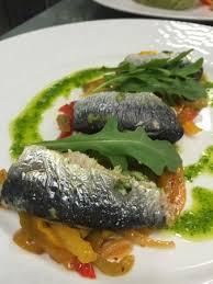 cap cuisine nancy sardines à la niçoise pistou de roquette picture of le cap marine