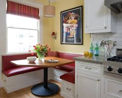 Kitchens With Banquette Seating Interior Photos Of Kitchens And Breakfast Nooks Full Home Living