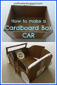 How To Make A Easy Toy Box by 25 Best Cardboard Box Cars Ideas On Pinterest Cardboard Car
