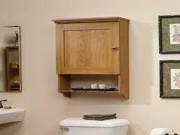 ideas oak bathroom wall cabinets throughout lovely bathroom