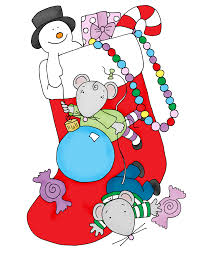 free dearie dolls digi stamps christmas stocking