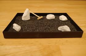 coloured zen sand garden home decorations insight