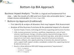 a top down business impact analyses method v5business impact