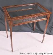 Display Case Coffee Table by Photo Of Regency Glass Display Cabinet Jewellery Case Bijouterie
