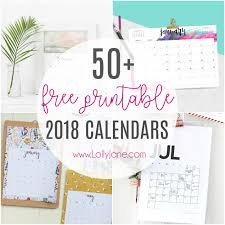 printable calendar generator 2018 free printable calendars lolly jane