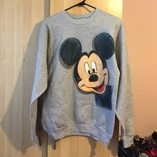 disneyland sweaters 44 disneyland sweaters disneyland mickey mouse grey crew