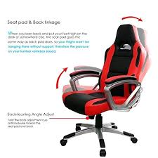 fauteuil de bureau sport chaise de gaming chaise de bureau baquet cool gamer excellent siege