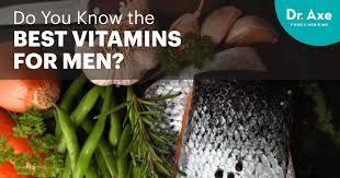 the best vitamins for men dr axe