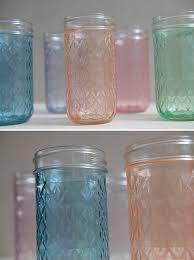 diy tinted mason jars glass paint and martha stewart