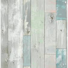 a deena turquoise distressed wood wallpaper 2540 20416