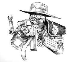 my new vegas character sketch by jedi art trick on deviantart