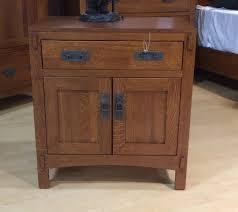 palettes by winesburg american craftsman two door nightstand
