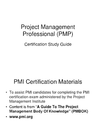 slidesoject management professional pmi study guide ppt project management professional pmi study guide ppt project management product development