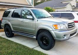 toyota sequoia lifted pics 2004 sequoia sr5 4x4 lift and tires question toyota nation forum