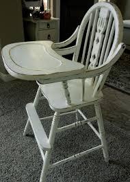 Rocking Horse High Chair Wooden High Chair Grows Child Childrens Chair Wooden High Chair