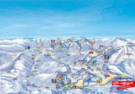 Andorra Map Absolutely Snow Andorra Vall Nord Piste Maps