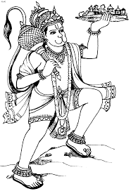 hanuman coloring pages india bollywood coloring pages for adults