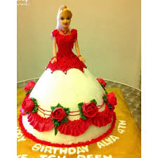 doll cake online doll cake delivery in delhi ncr