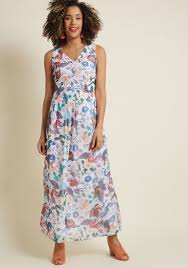 chiffon maxi dress chiffon maxi dress with 3 4 sleeves in black floral modcloth